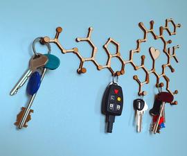 Design Your Own Molecule Key Holder