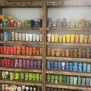 Tiki Book Shelf