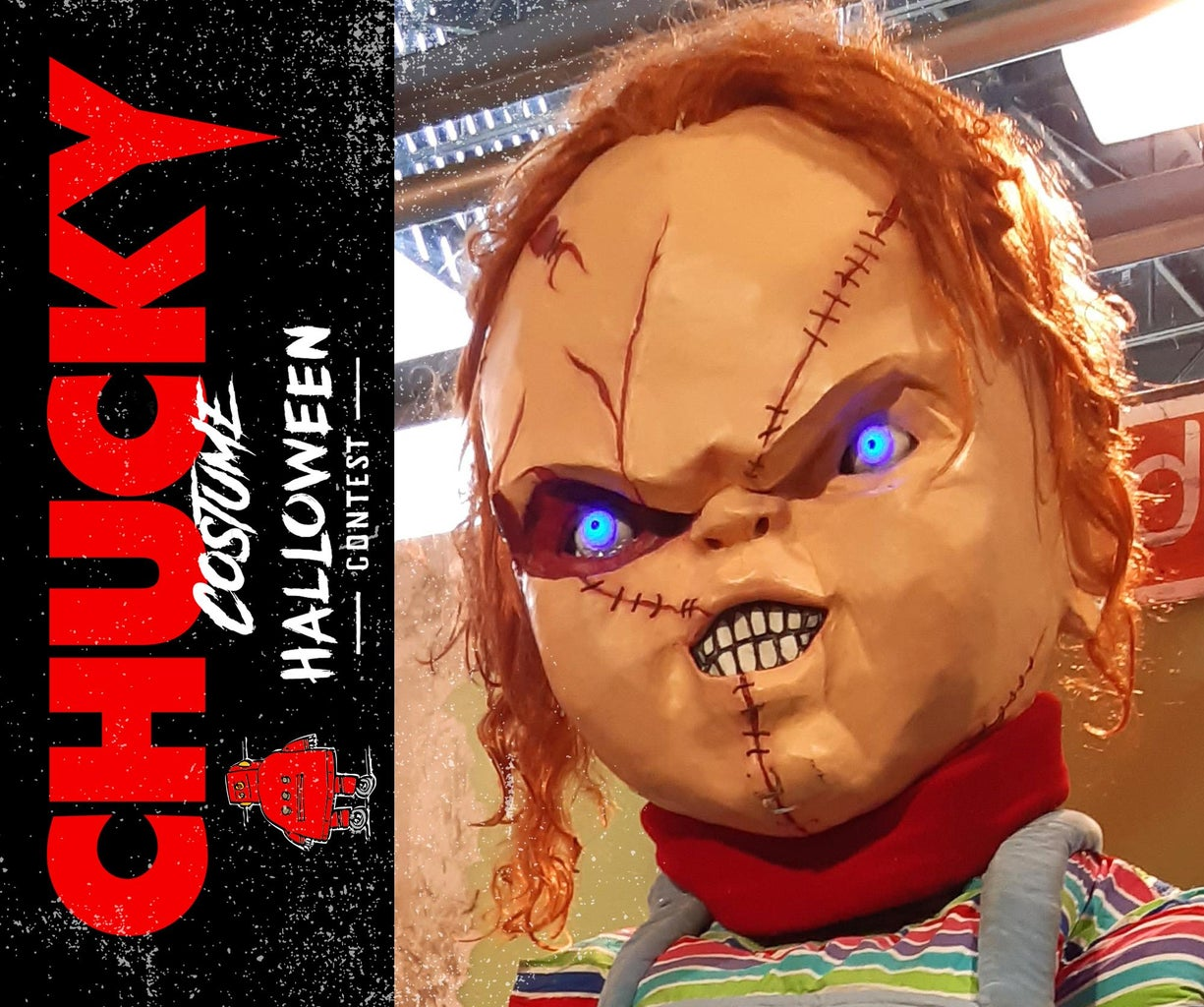 How to Create a Giant Chucky (Good Guys Doll) Costume