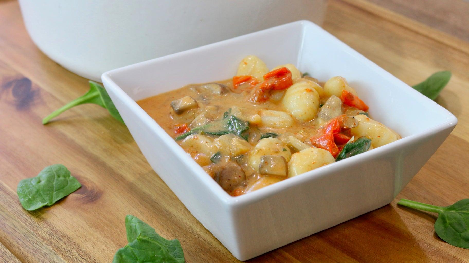 Coconut Thai Curry Gnocchi