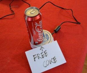 The Useless Alarmed Coke Can