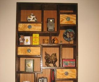 KNICK KNACK SHADOW BOX