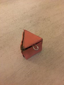 Glue Together the Triangle Key Chains
