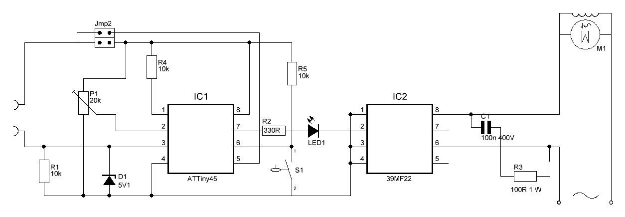 Watering your plants with an Attiny microcontroller