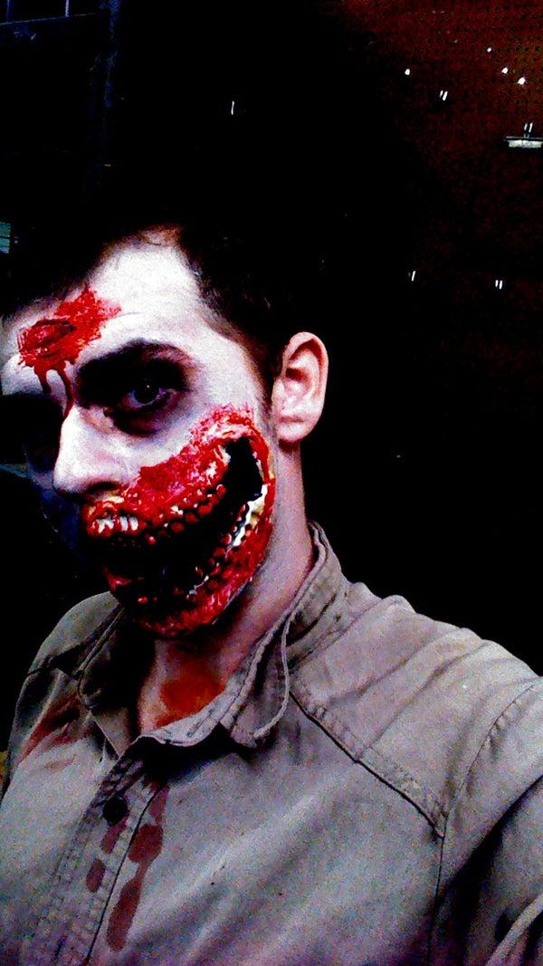 Half-Faced Zombie