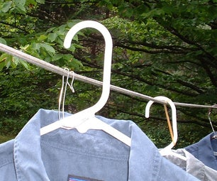 Clothesline Hangers for Windy Conditions