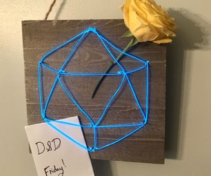 Faux Neon Sign (Easy)