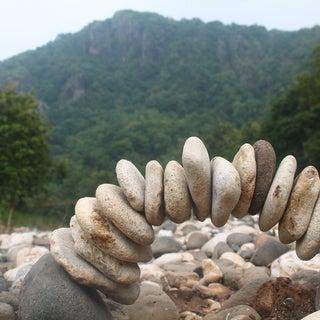 Campsite Rock Sculpture