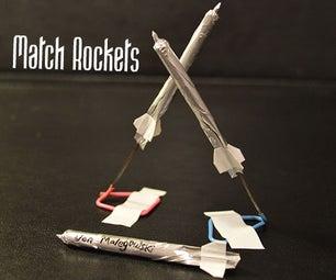 如何制作火箭