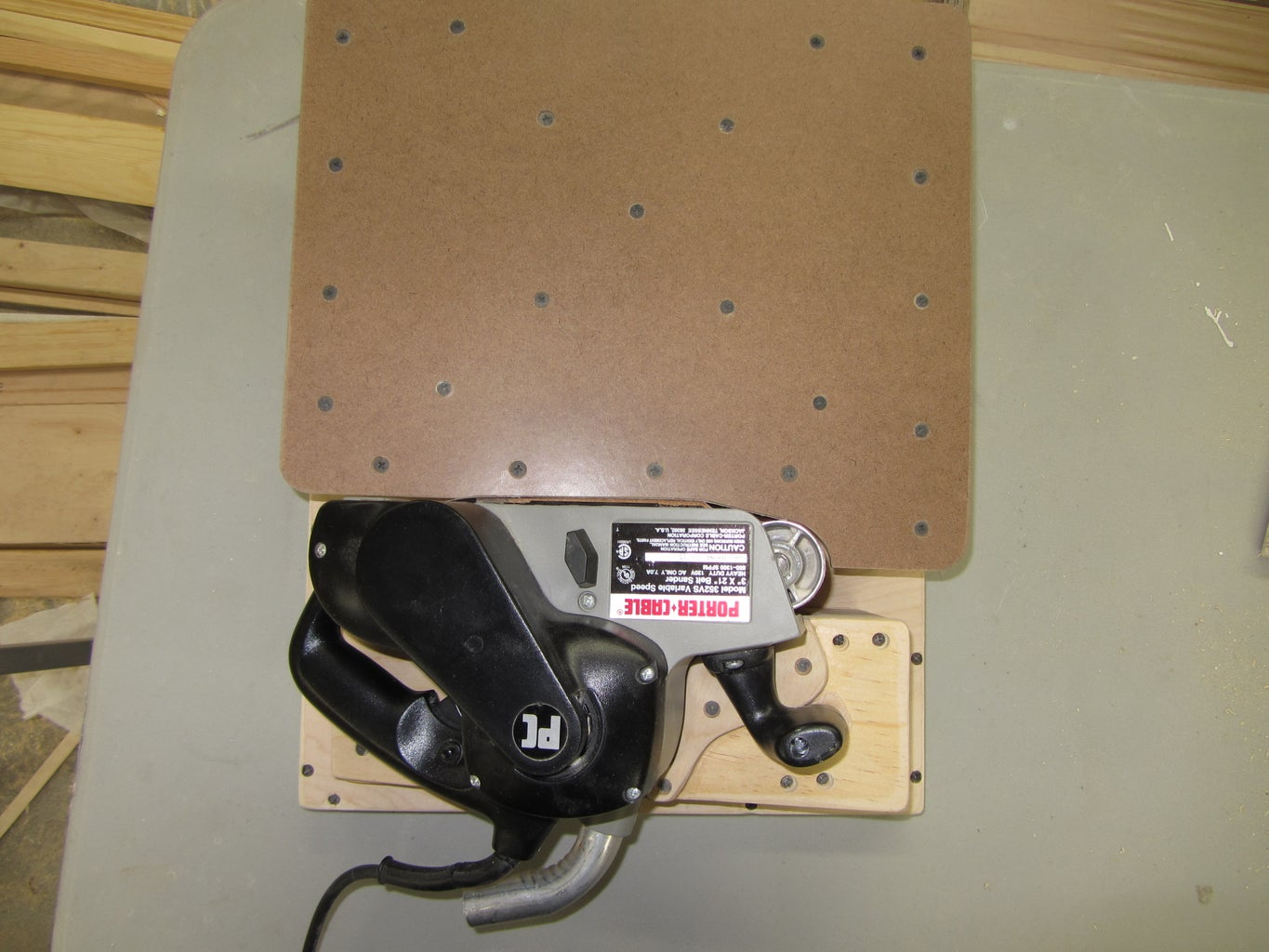 Build a Support Plate for Your Sander