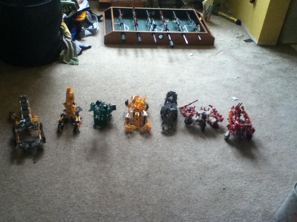 Knex Transformer Devastator Part 3: Combination!