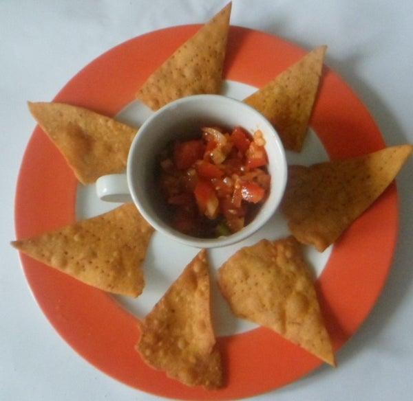 Crispy Nacho Chips