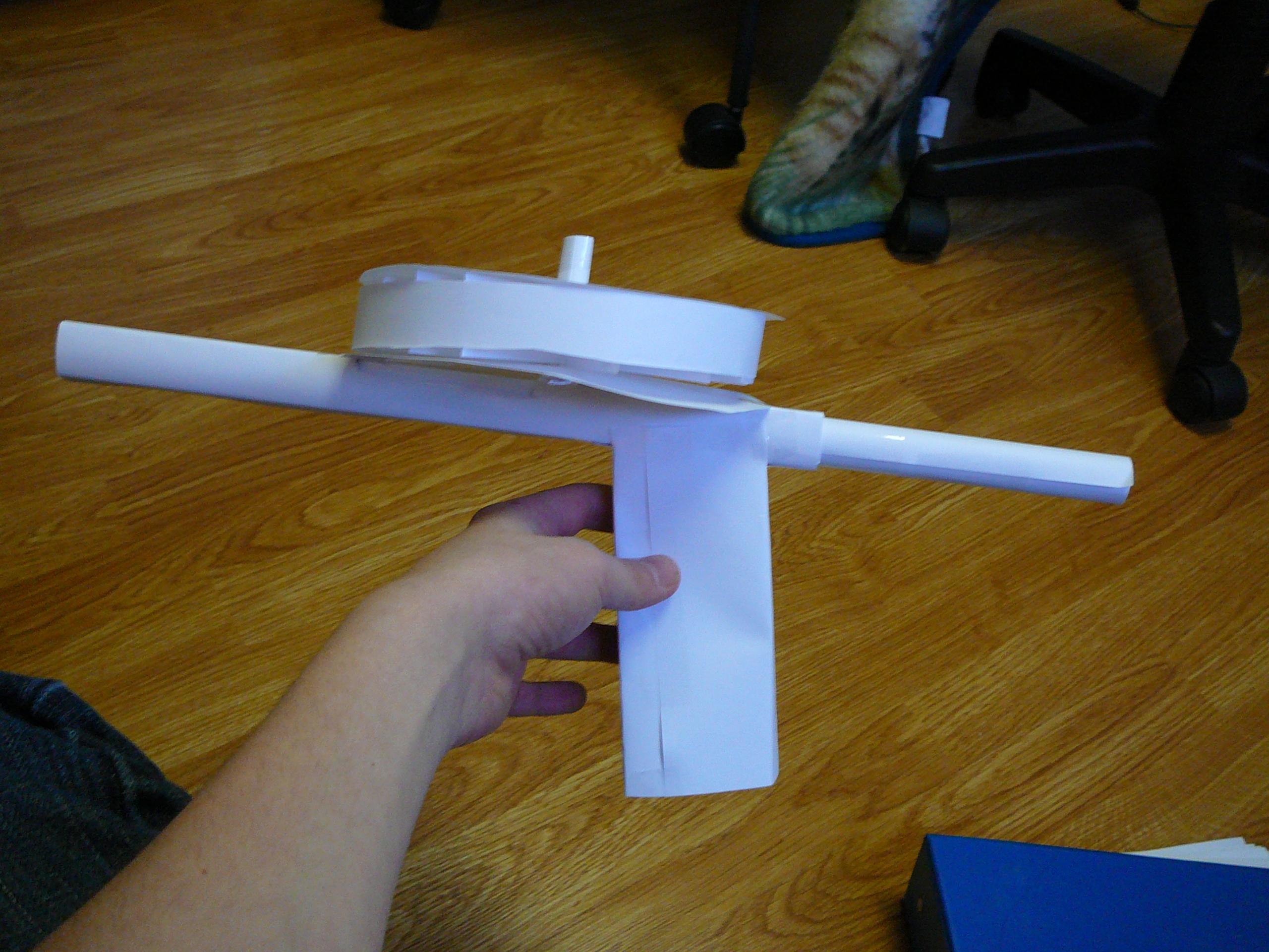 Paper disk mag gun!