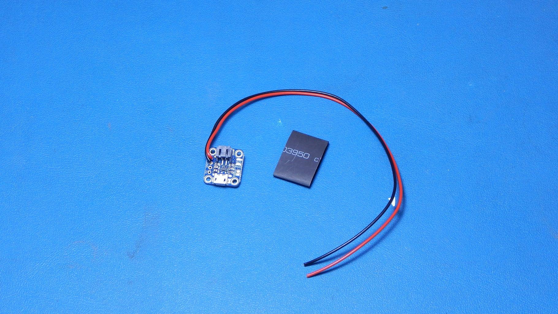Preparing the Adafruit USB LiIon/LiPoly Charger