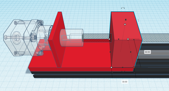 Design Process - Stepper Motor Mount - Bearing Block