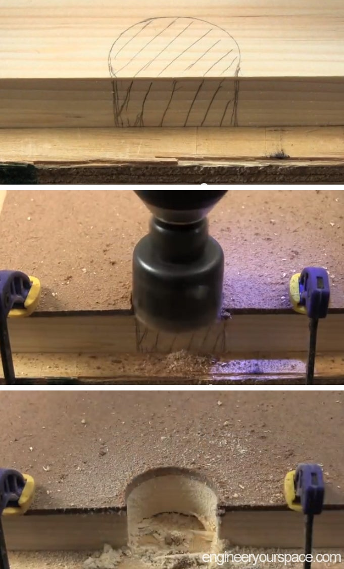 Drill Holes for Wires