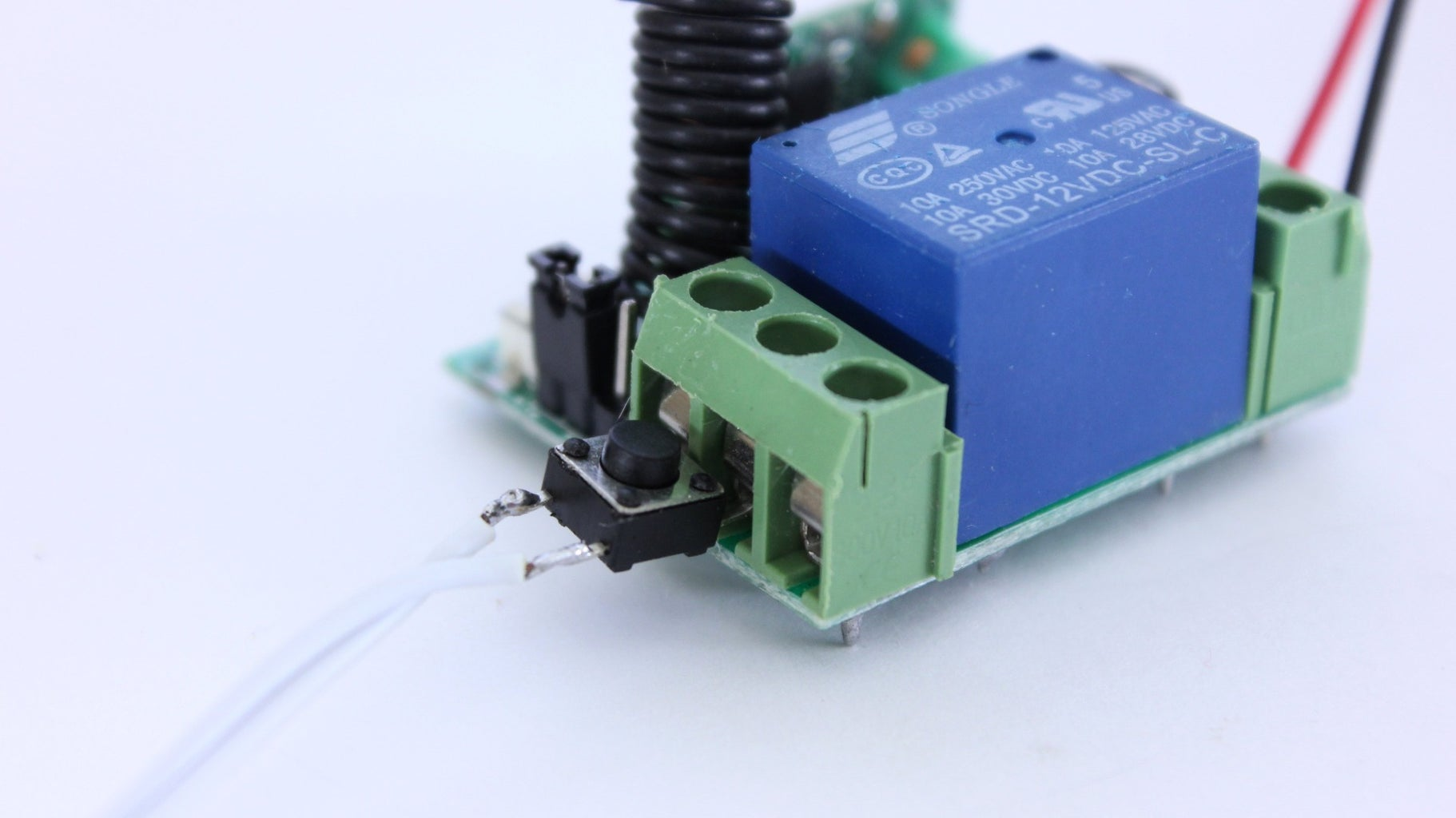 Connect the Switch to the Relay
