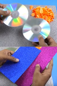 Let's Take CDs and Glitter Sheets!