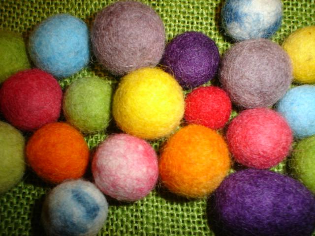 felt  beads TUtorial