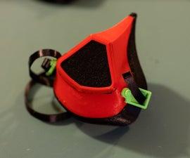 100% 3D Printed Covid Mask