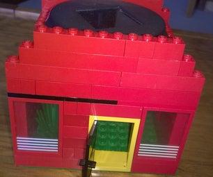 Solar Powered Light in Lego House