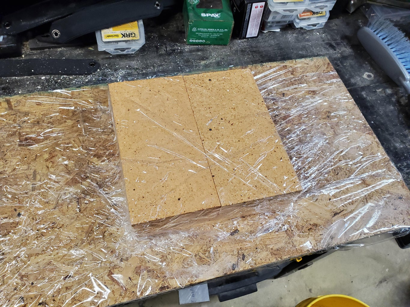 Filling the Body With Castable Refractory