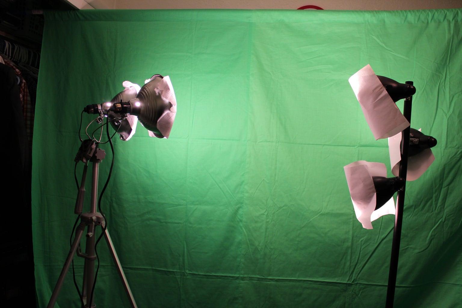 Lighting the Green Screen