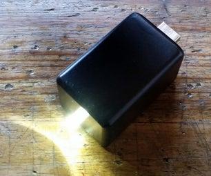 Supercapacitor USB Flashlight