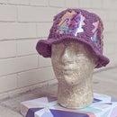 Crocheted Soda Can Hat