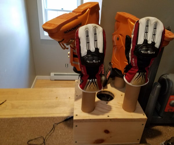 Building a Boot Dryer