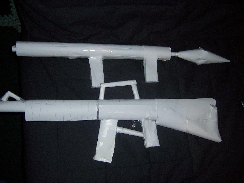 Sneak Peek at My Rpg and M16!!!
