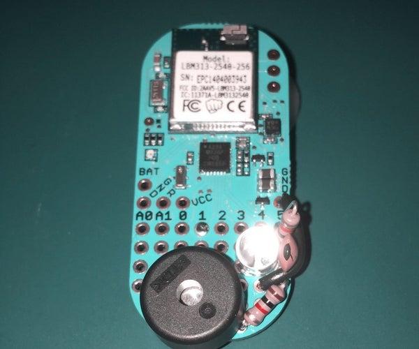 Electronic TattleTale / Fridge Monitor