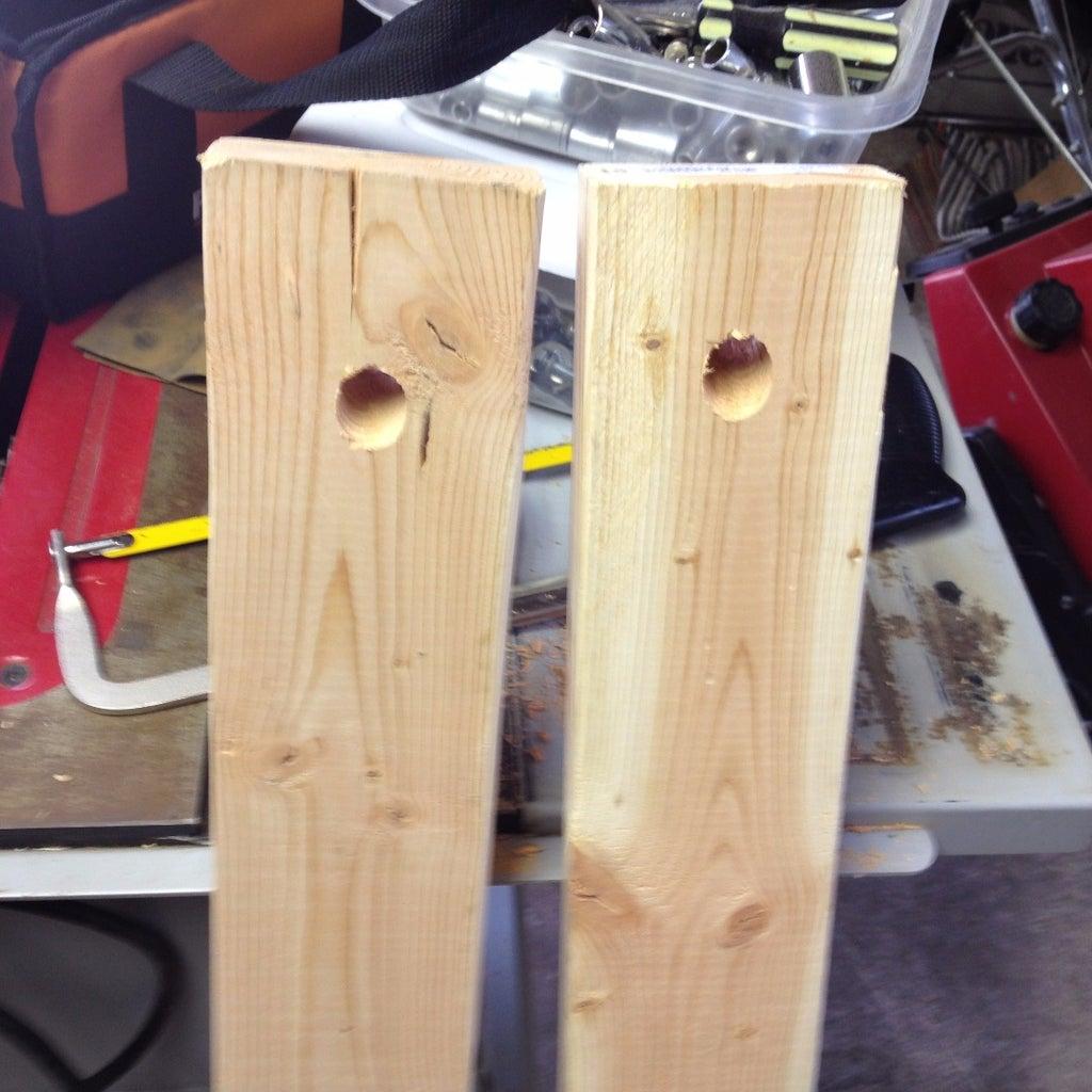 Making the Tripod Legs