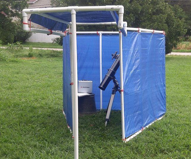 Economical Backyard Observatory