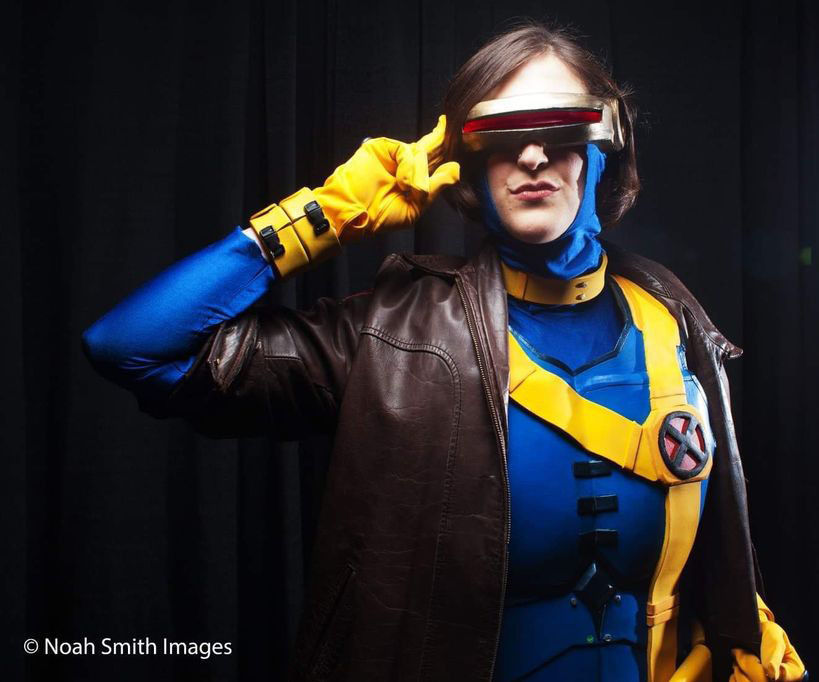 "How to Make an X-Men ""Cyclops"" Costume"