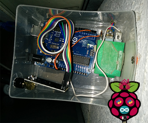 Arduino and Raspberry Home Automation