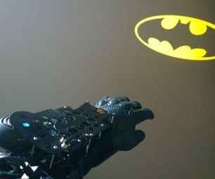 Batkid Tech #3: Wrist-Projector Communicator