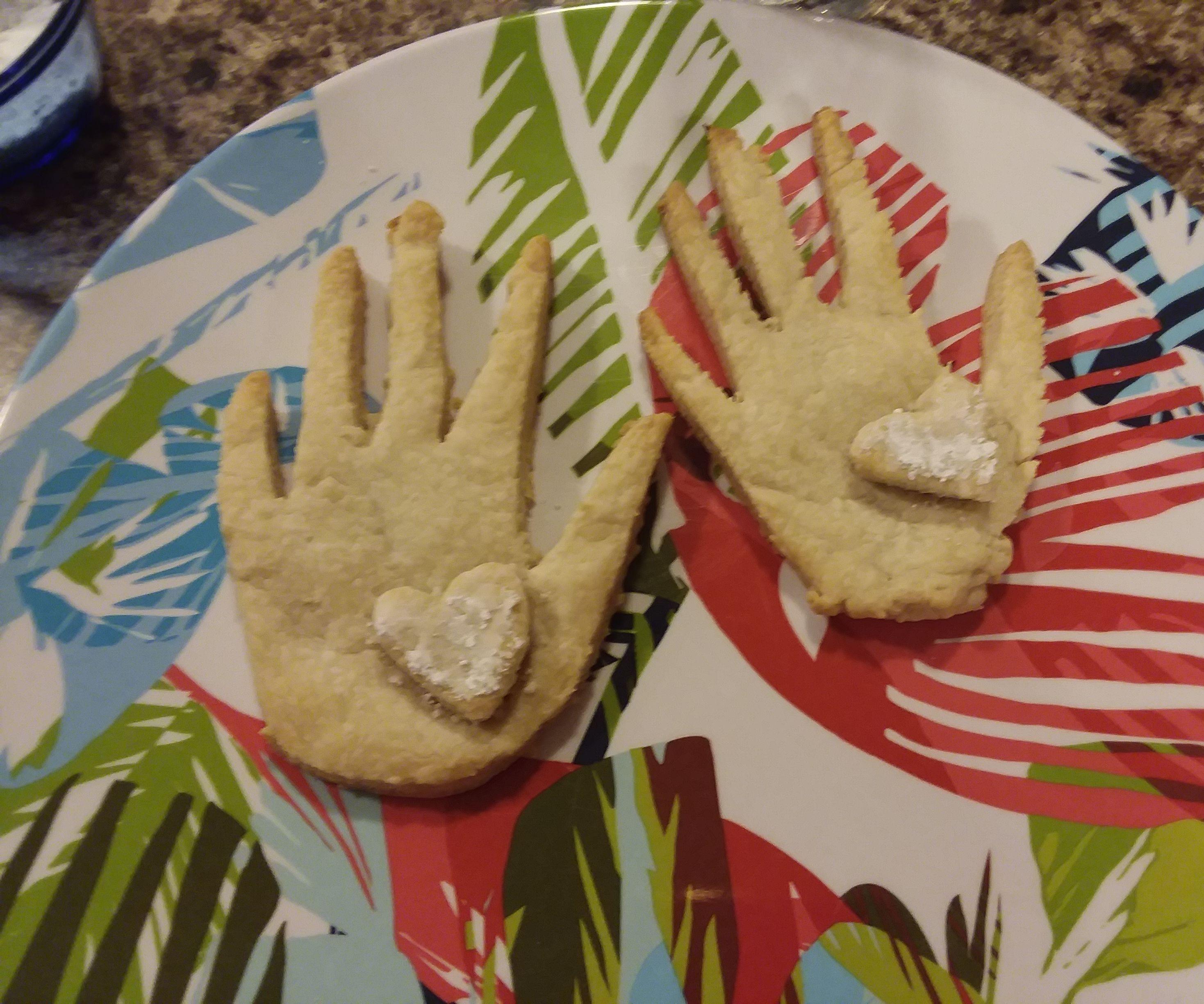 Heart-in-Hand Pie