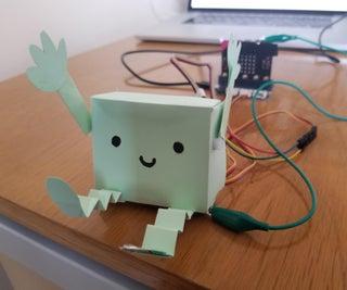 Make a Ticklish Robot