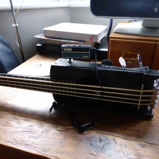 Make a Travel Practice Guitar Ver. 2.0 (with Video)