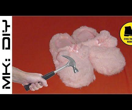 MK: DIY Kevlar Toe Slippers