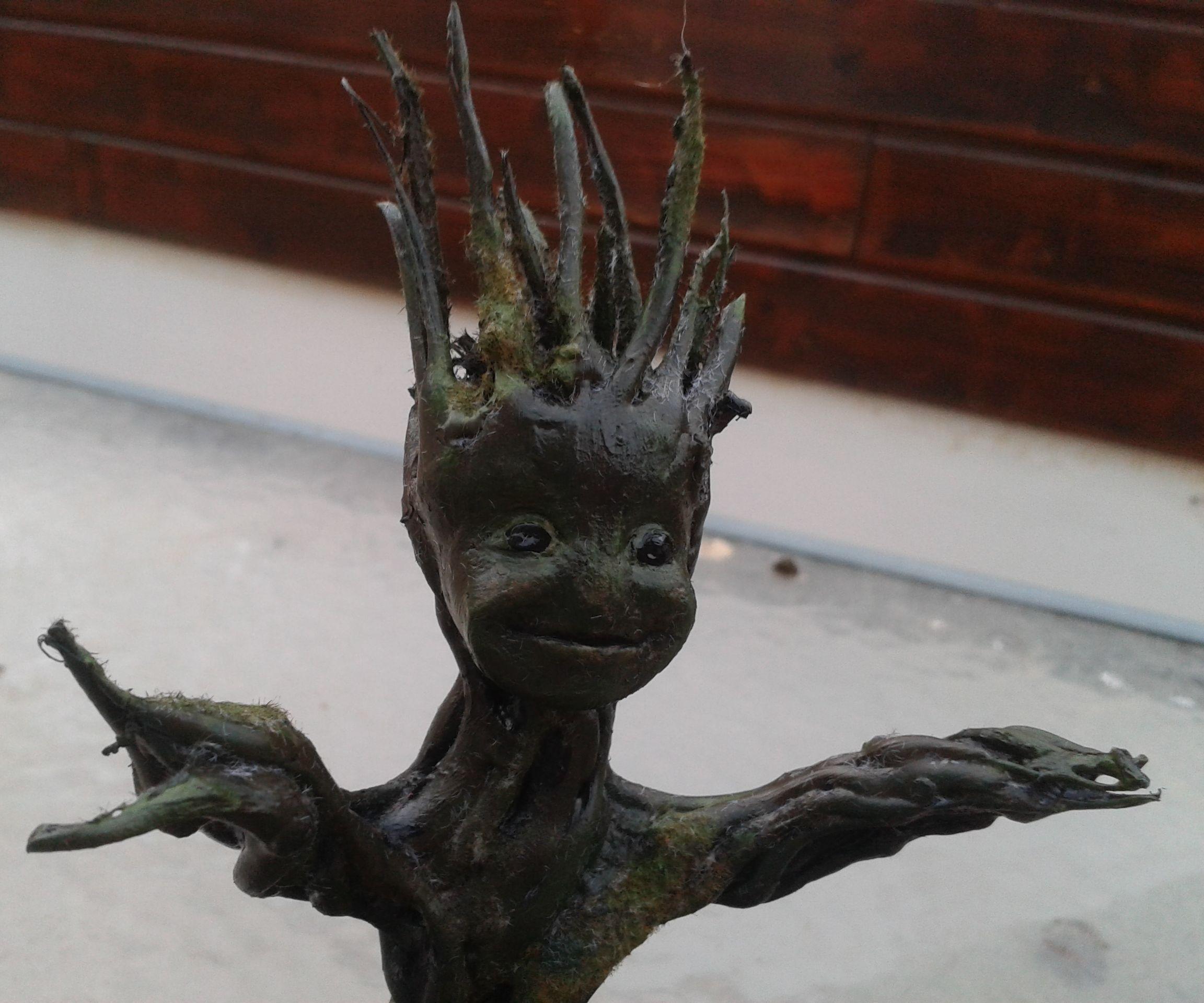 Homemade Baby Groot