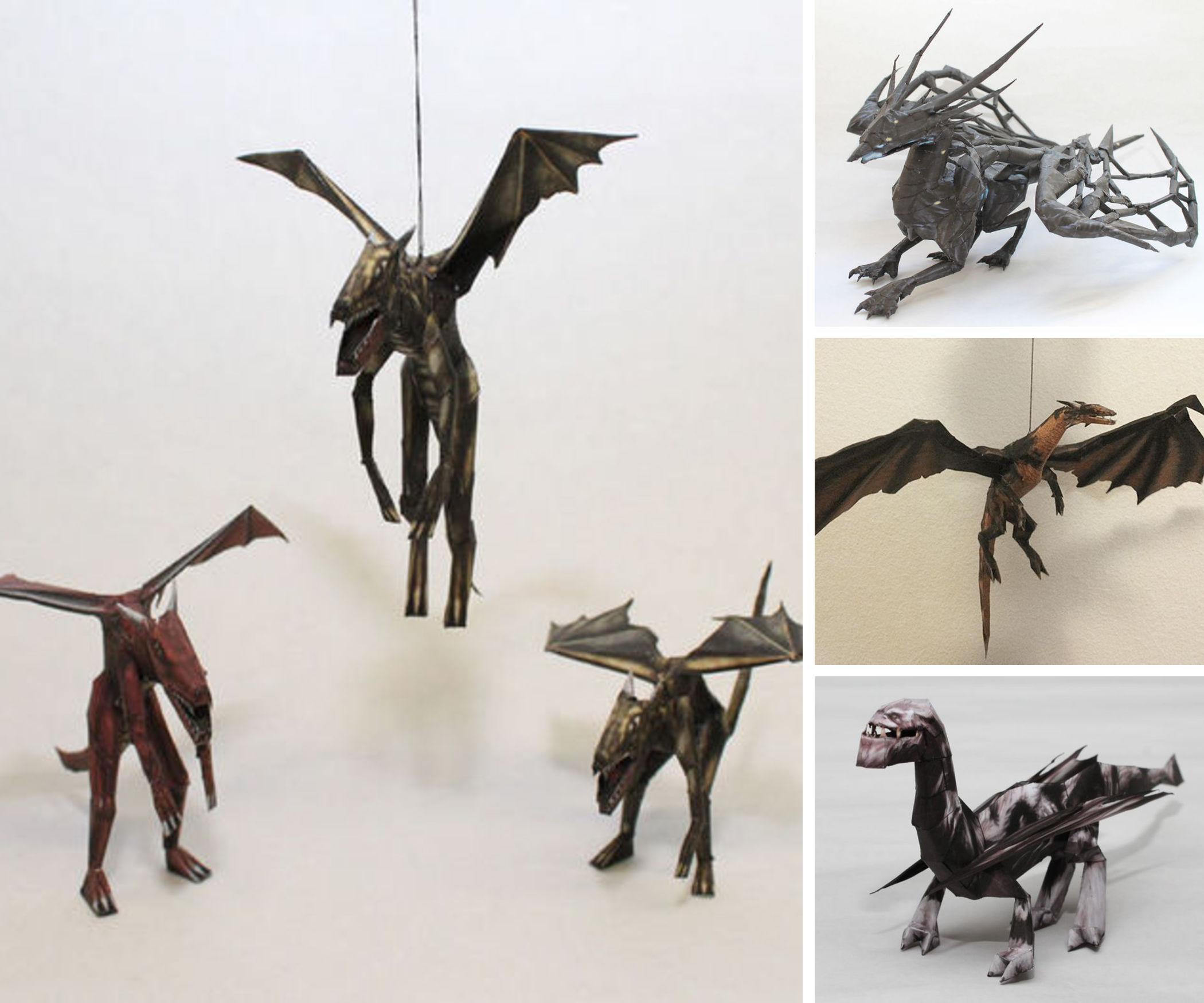 Dragon Papercrafts
