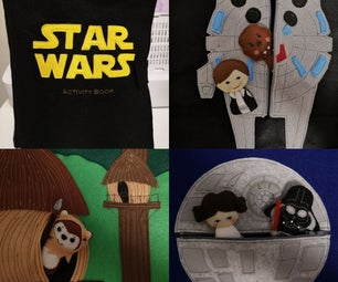 Star Wars Felt Activity Book/Quiet Book