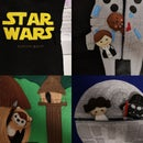 Star Wars Felt Activity Book/Quiet Book