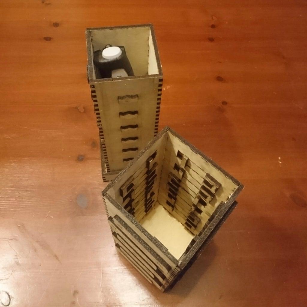 Riddle Puzzle Box