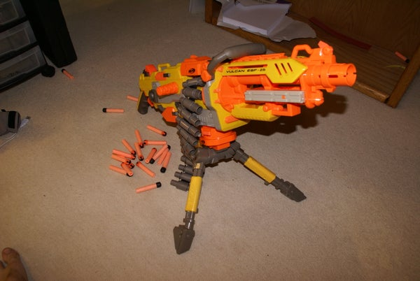 Nerf Vulcan Modification Project