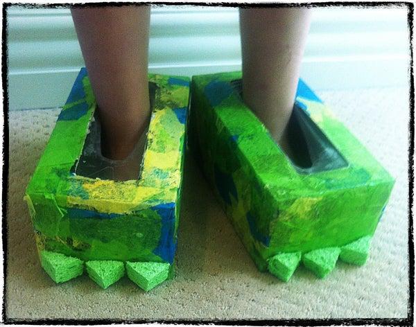 DIY Monster Shoes