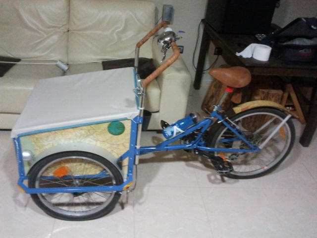 build a cargo bike.