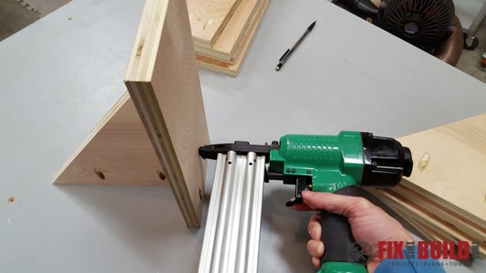Cut and Assemble Clamp Support Pieces